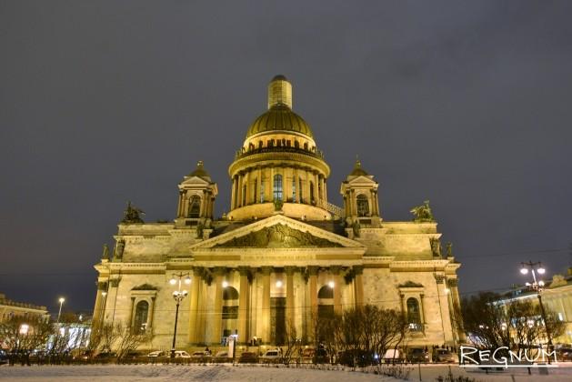 Исаакиевский собор передадут в ведение РПЦ — Полтавченко