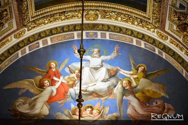 Фреска Исаакиевского собора