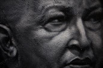 Уго Чавес (фрагмент рисунка)