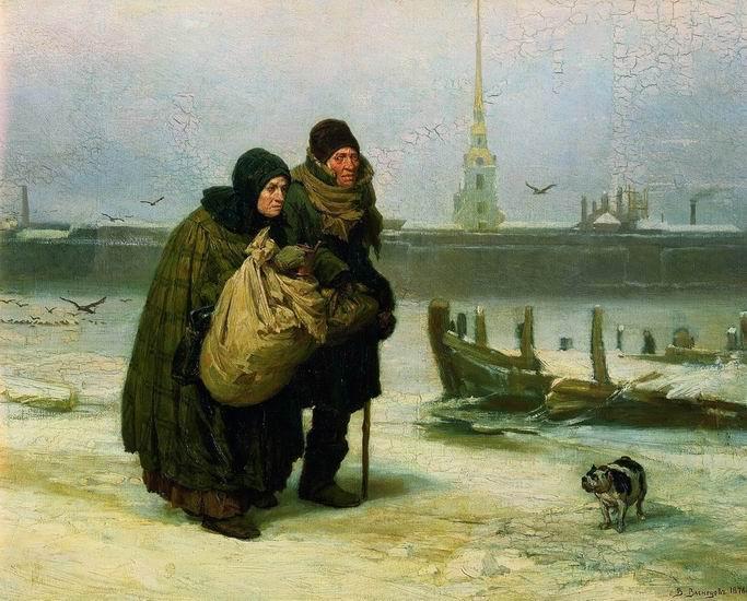 Алексей Саврасов. С квартиры на квартиру. 1876