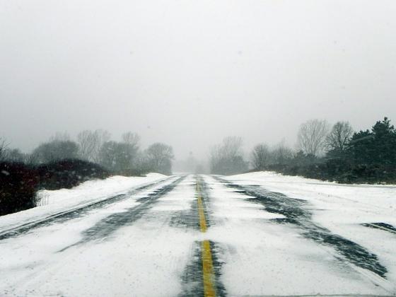 В Новосибирске в два раза выросло число ДТП из-за плохих дорог