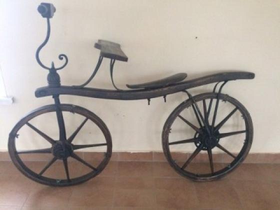 Экспонат музея «Самокат»