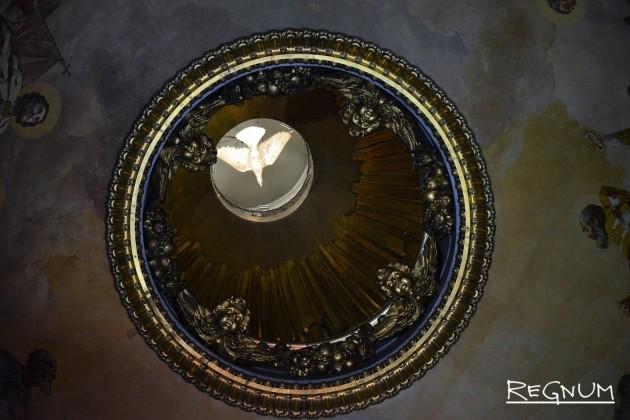 Купол Исаакиевского собора изнутри