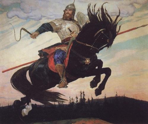 Виктор Васнецов. Богатырский скок. 1914