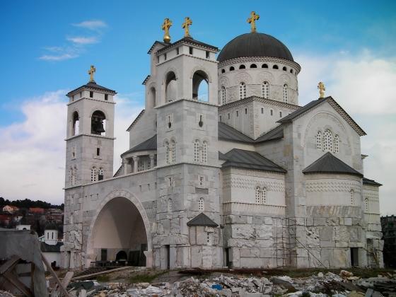 Воскресенский собор в Подгорице, Черногория