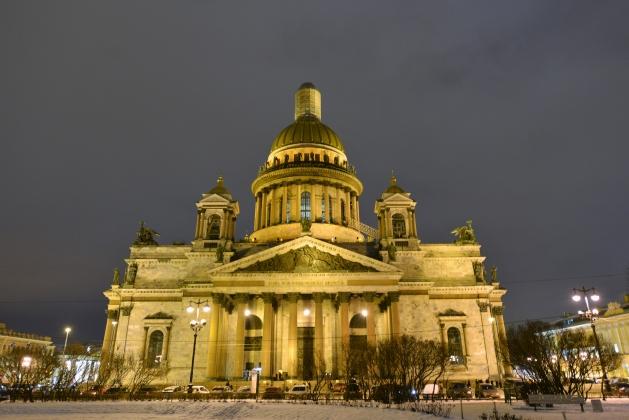 Исаакий у Полтавченко попросил лично патриарх Кирилл