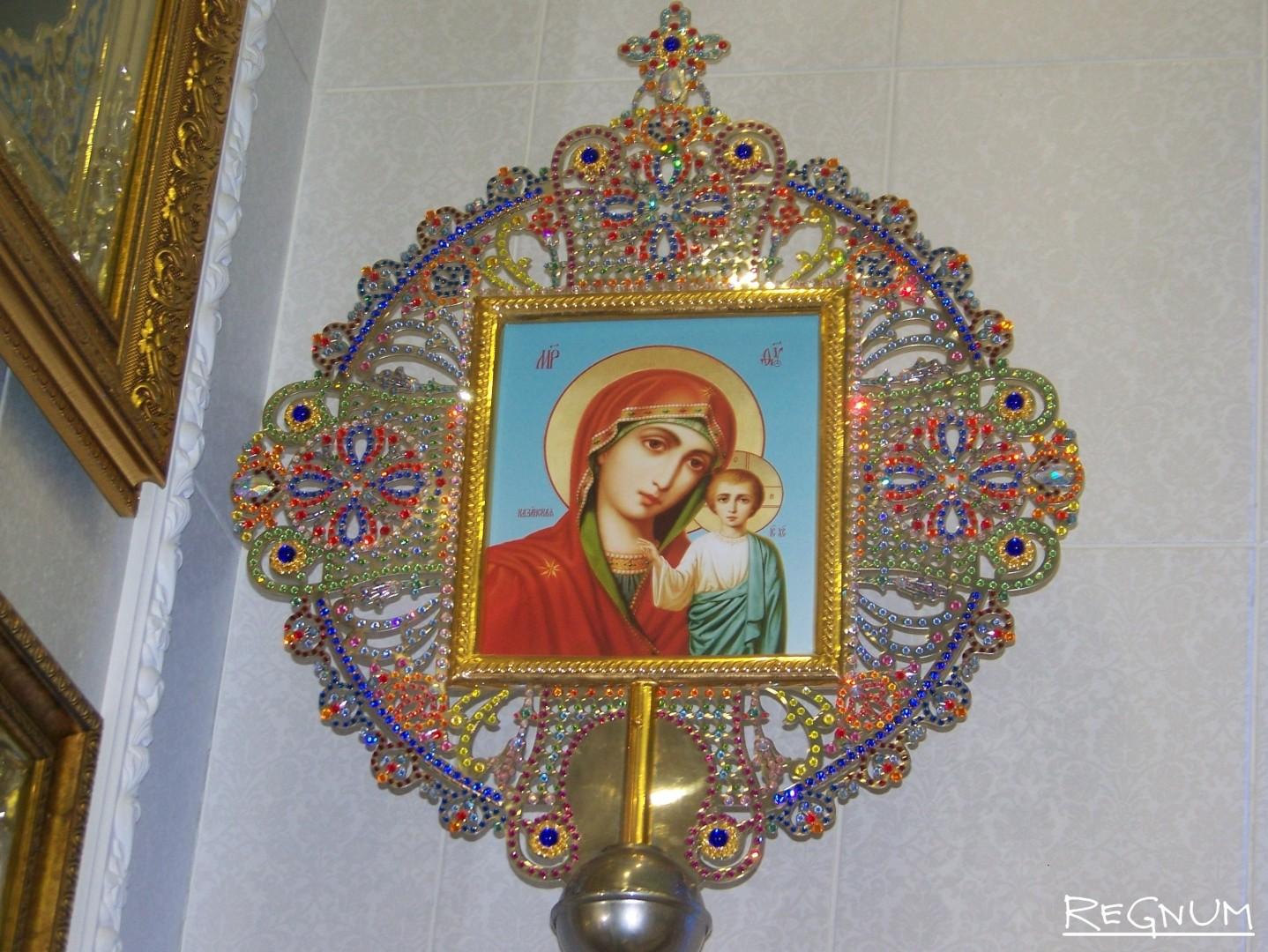 Чем украсить икону своими руками