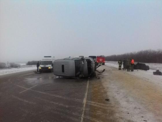 Авария во Фроловском районе Волгоградской области