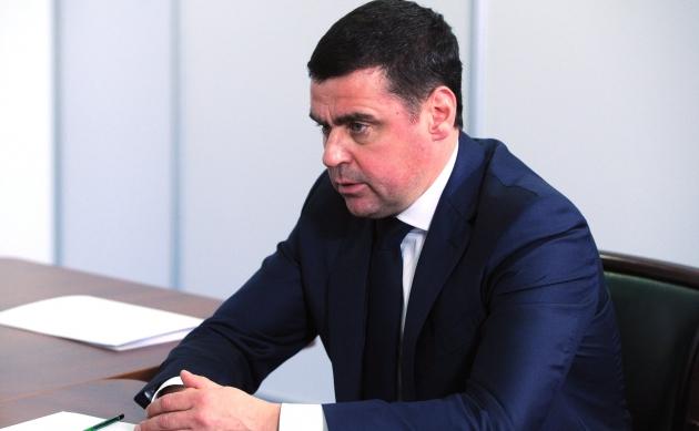 Временно исполняющий обязанности губернатора Ярославской области Дмитрий Миронов