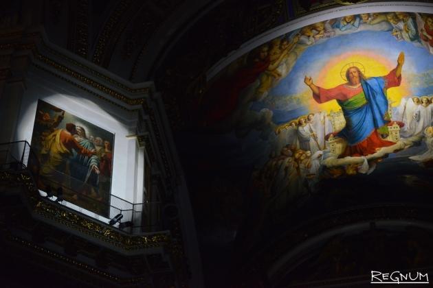 Музыкально-световое действо в Исаакиевском соборе