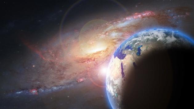 ракета фото в космосе