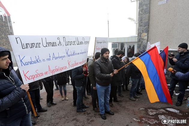 В минске акция протеста