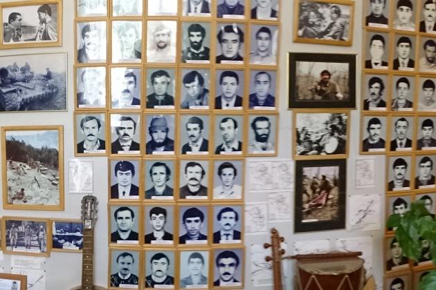 Музей павших воинов в Степанакерте