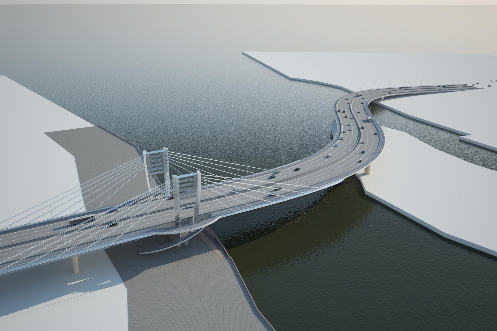 необычные мост через остров серный фото из проекта станице
