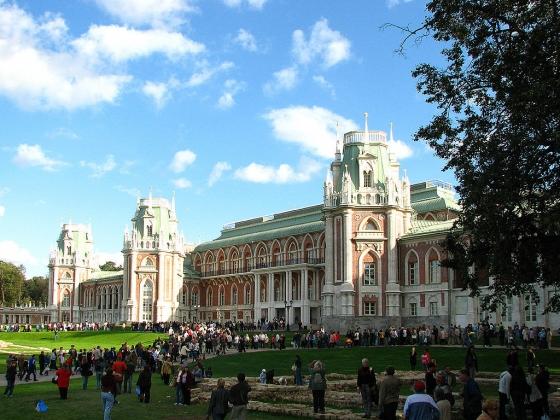 В день открытия Большого дворца и реконструированного ансамбля