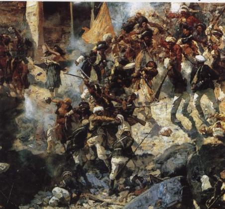 Египет, Сирия, Кавказ: апофеоз Кавказской войны