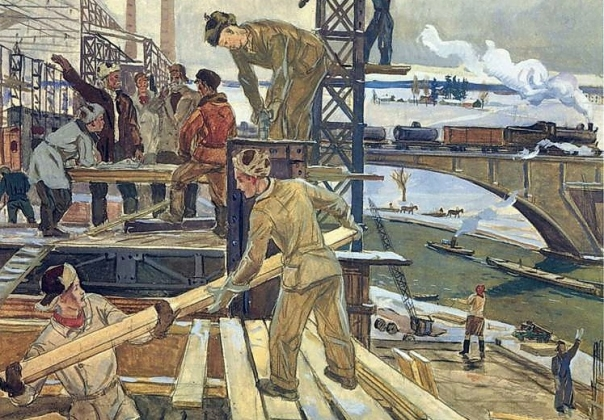 Замминистра обороны РФ сравнил масштаб строительства с послевоенным — «Ъ»