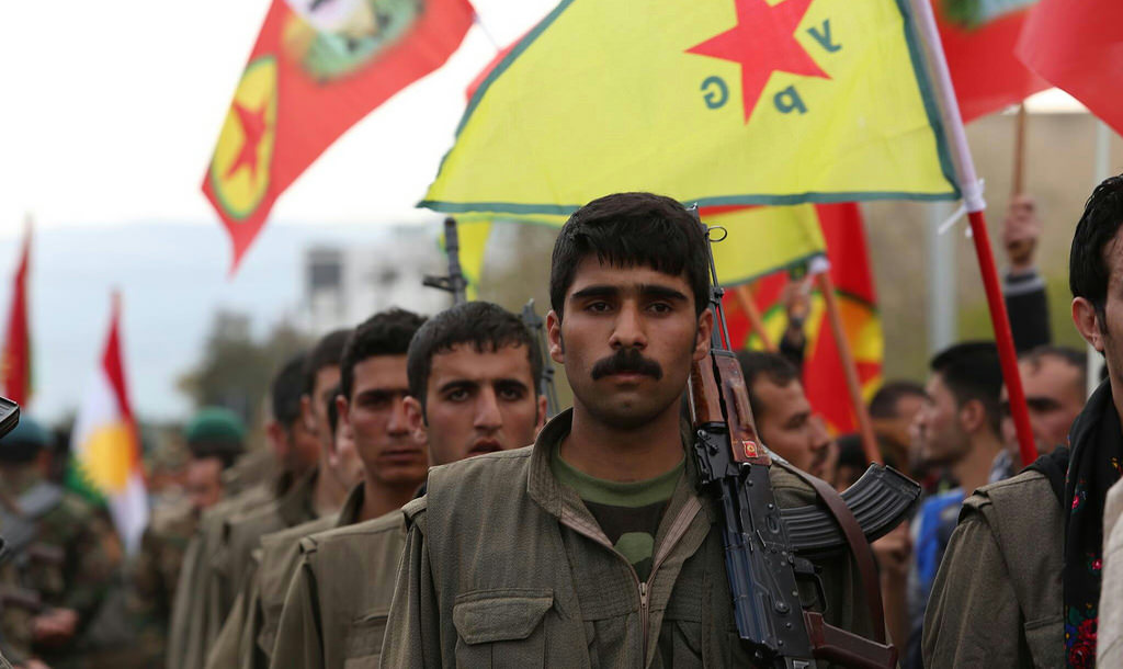 Курдский ополченец