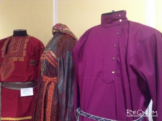 Национальные наряды народностей, проживающих на Алтае