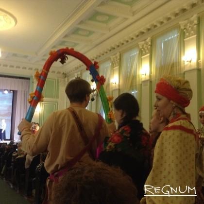 Фрагмент алтайского свадебного обряда