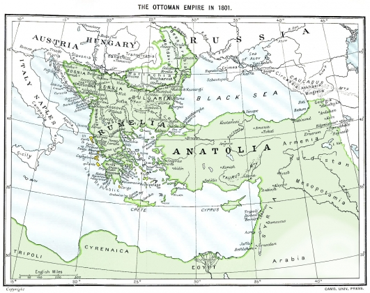 Османская империя в 1801 году