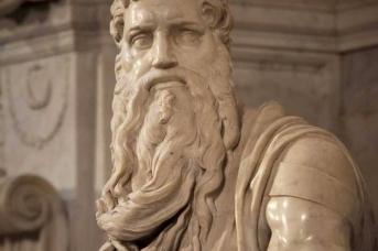 Микеланджело. Моисей. 1515