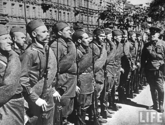 Ленинградское ополчение. 1941