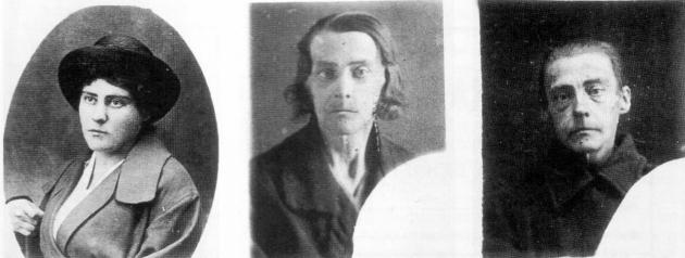 Фотографии ленинградки С. И. Петровой, пережившей блокаду. Сделаны в мае 1941 года, в мае 1942 года и в октябре 1942 года соответственно