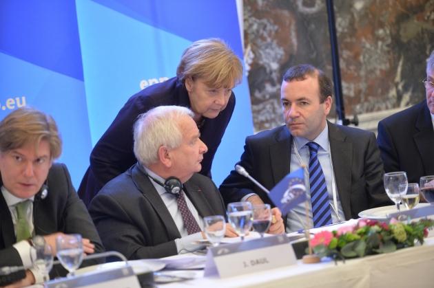 Саммит Европейской народной партии (ЕНП) в Брюсселе. Декабрь 2014 года