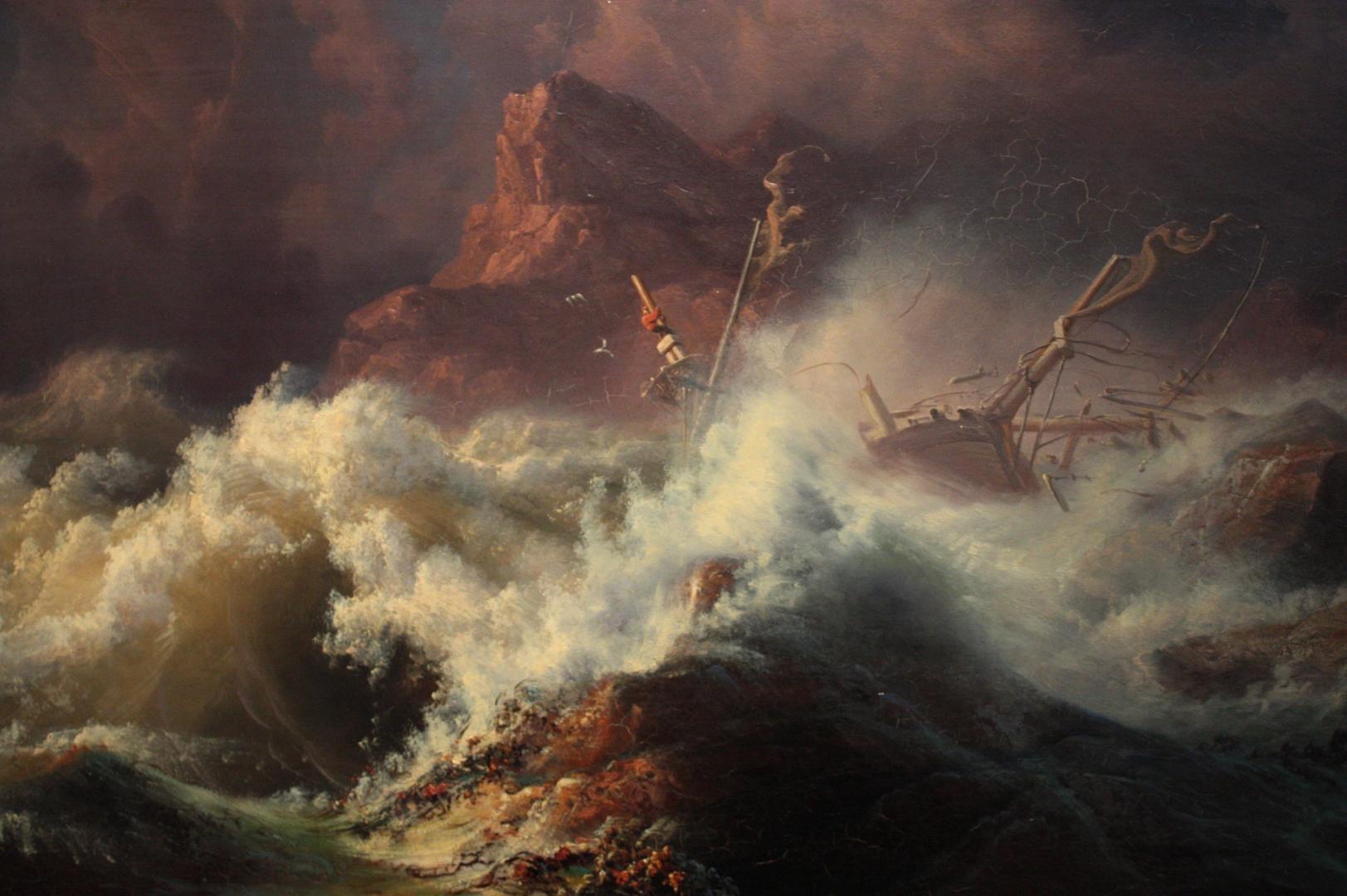 Кнут Андреессен Бааде. Крушение. 1835