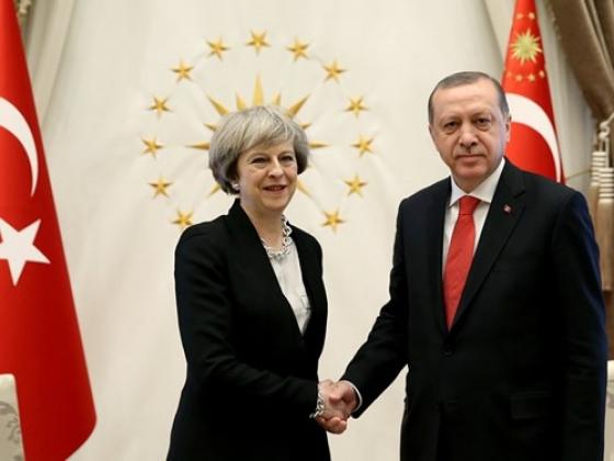 Британия намерена развивать торговые отношения с Турцией