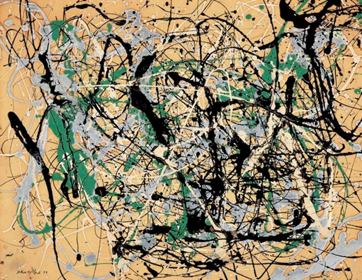 brief comparison andy warhol and jackson pollock and their