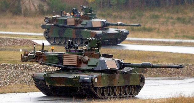 Из Польши в Латвию и Литву перебросят американские танки — WSJ