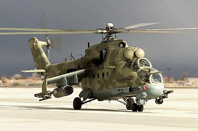 СМИ: В Конго при крушении двух Ми-24 погибли два российских вертолетчика