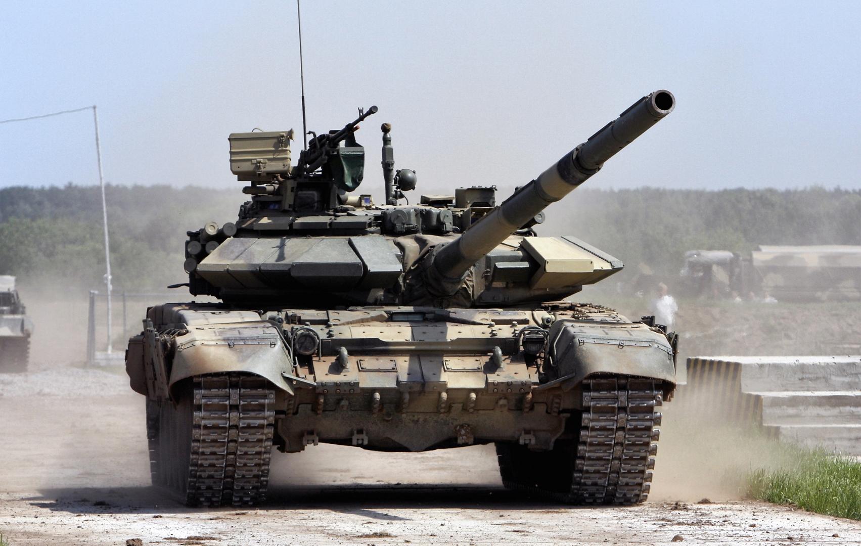 Танк Т-90С сухопутных войск Армении
