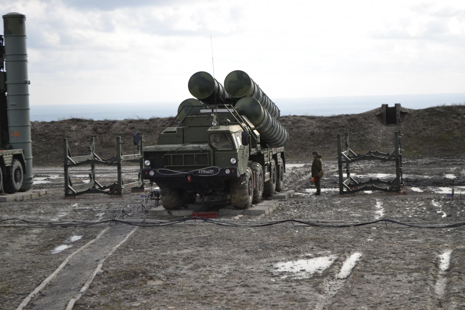 С-400 заступил на боевое дежурство в Крыму