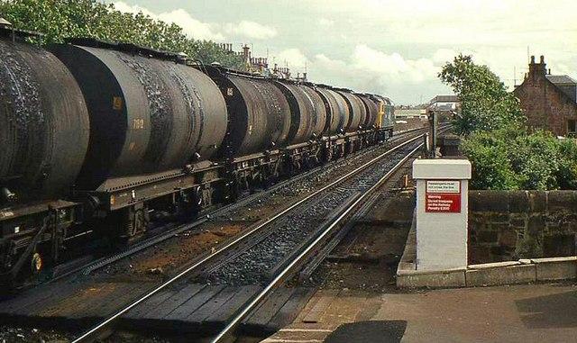 Эшелон с нефтью