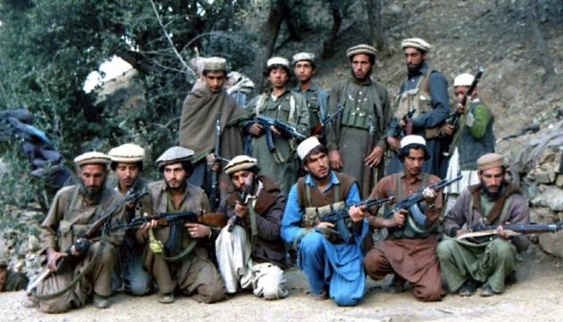 Афганские исламисты. 1987
