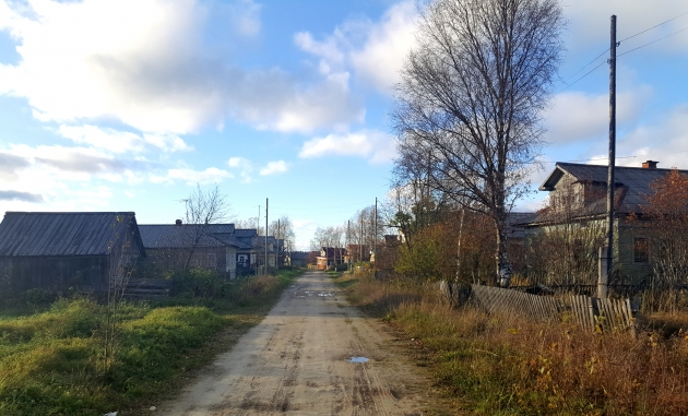 Деревенская улица Усть-Пинеги — ей 900 лет