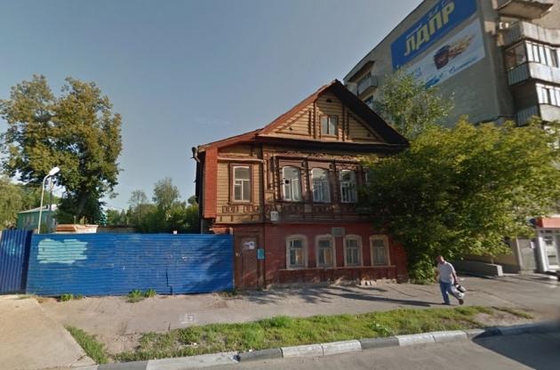В Нижнем Новгороде от дома, где «в людях» жил Горький, остались лишь стены