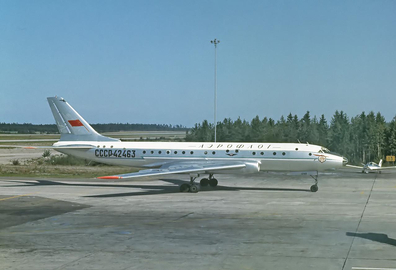 Ту-104А, схожий с разбившимся