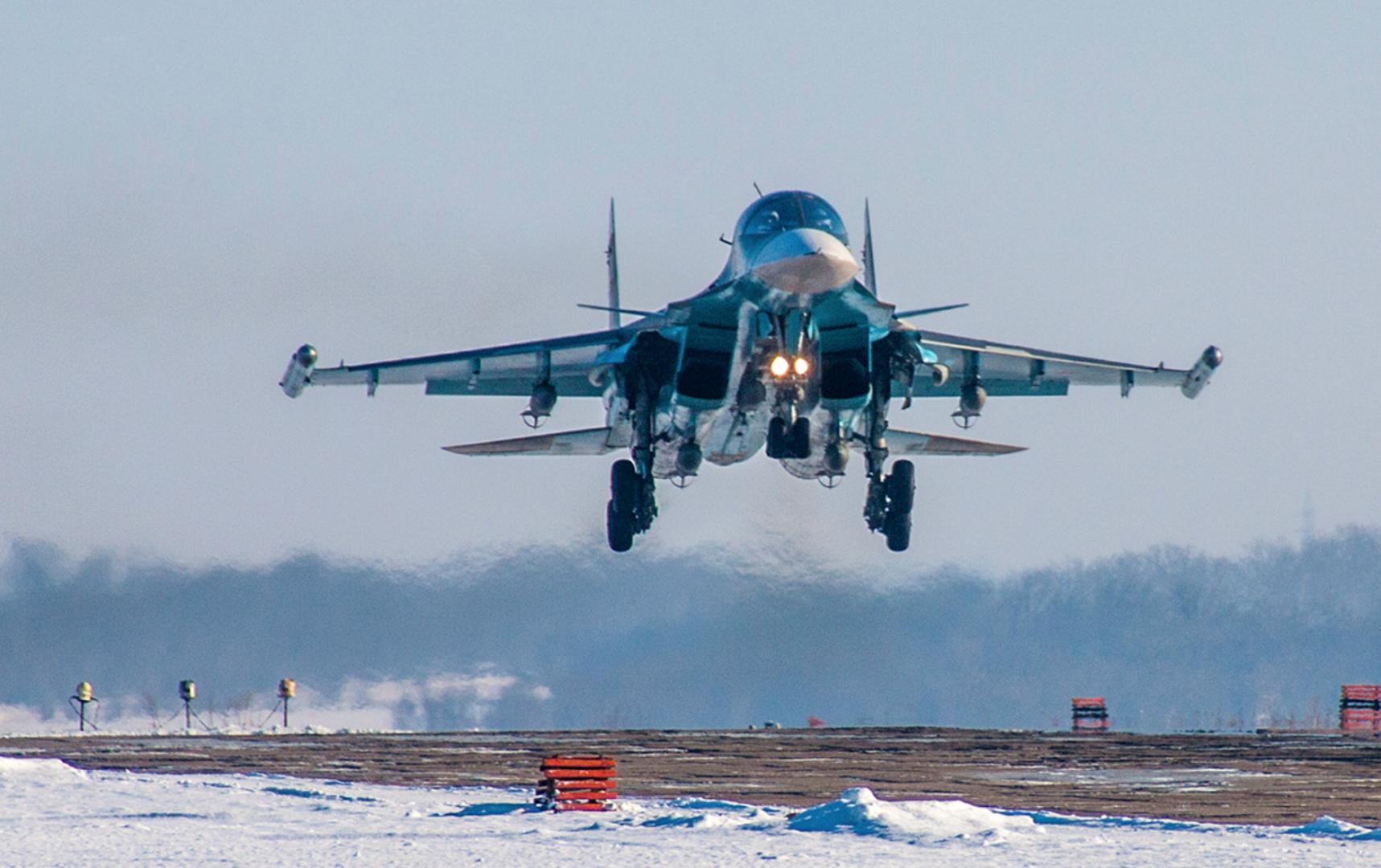 Су-34 ВКС РФ
