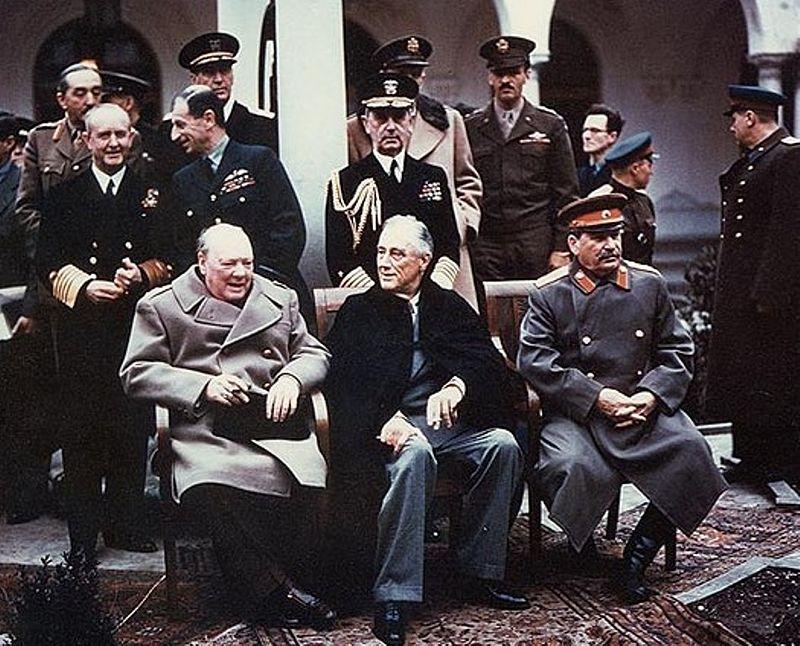 Ялтинская конференция 1945
