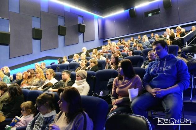 Зрители на открытии Фестиваля японского кино