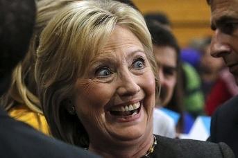 Умиротворить Хиллари нельзя, физически невозможно