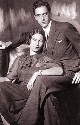 Агния Барто с супругом