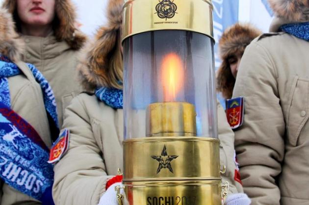 Огонь Всемирных военных игр на Дону вместе с Хоркиной встретят 2017 человек