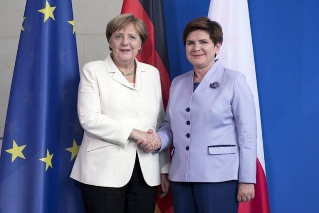Ангела Меркель и Беата Шидло