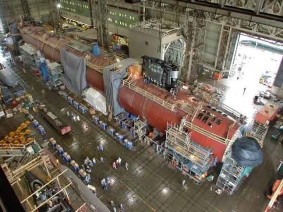 Пентагон оплатил старт строительства двух новых подлодок типа «Вирджиния V»