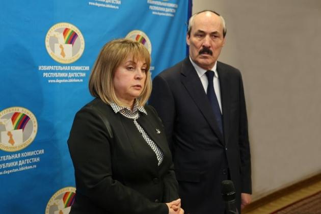 Элла Памфилова признала произвол на выборах в Дагестане